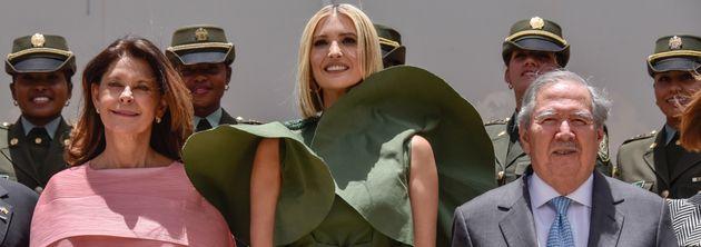 Stiff Breeze Turns Ivanka Trump's Dress Into Fodder For Fashion