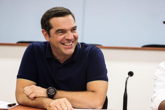 Ο Τσίπρας συναντά τους τομεάρχες του ΣΥΡΙΖΑ ενόψει
