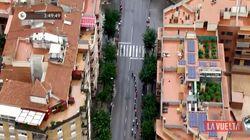 Lors du Tour d'Espagne, une plantation de cannabis filmée en plein