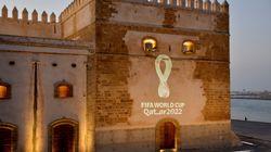 Le logo du Mondial 2022 au Qatar