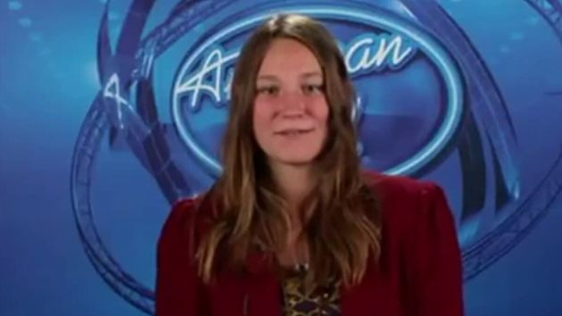 Hayley Smith on American Idol in