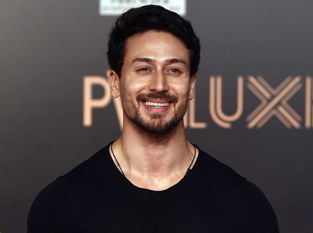 In this photo taken on June 4, 2019, Indian Bollywood actor Tiger Shroff attends the premiere of Hindi...