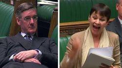 Il leader della Camera dei Comuni si sdraia in Parlamento. La deputata si infuria