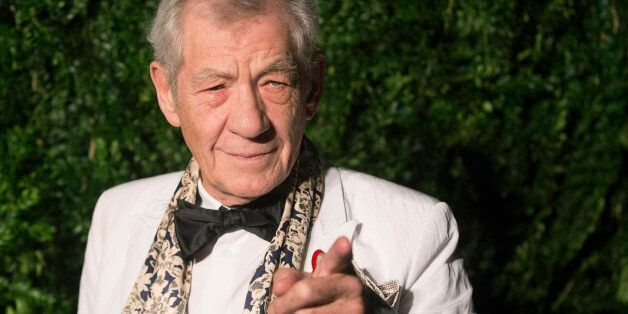 British actor Ian McKellen attends the Evening Standard Theatre awards in London November 30, 2014. REUTERS/Neil...