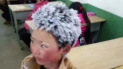 중국 '얼음소년'이 논쟁을 부른