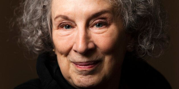 Canadian author Margaret Atwood poses for a portrait as she promotes her