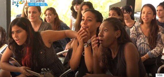 정용화와 윤시윤을 만난 쿠바 한류팬들의