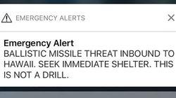 하와이서 미사일 경보 실수로 발령한 공무원의