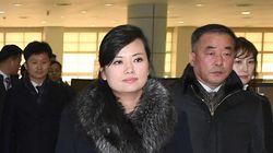 북한 예술단 사전점검단이 통일대교를