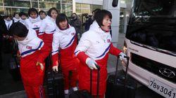 北올림픽 선발대·女아이스하키 선수단이