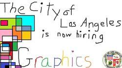 로스앤젤레스 시청이 그래픽 디자이너를