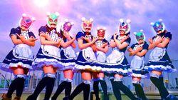 일본에서 '가상화폐소녀'라는 걸그룹이