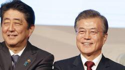 문대통령과 아베 총리가 세 번째 정상회담