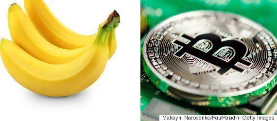 바나나에 기반을 둔 가상화폐가 실제로