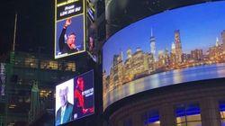 '일베 광고'한 타임스퀘어 광고대행사가 30분간 사과메시지를