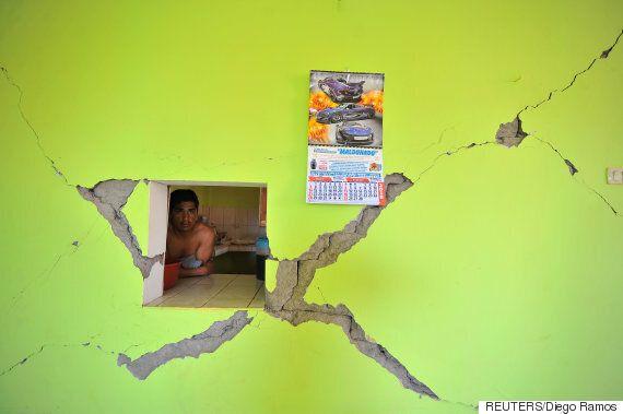 페루 남부에서 규모 7.1의 강력한 지진이