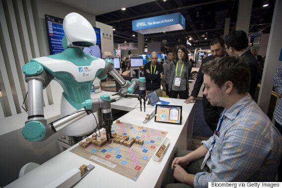 CES 2018을 찾은 로봇을