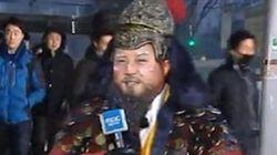 조세호가 MBC 아침뉴스의 기상캐스터로