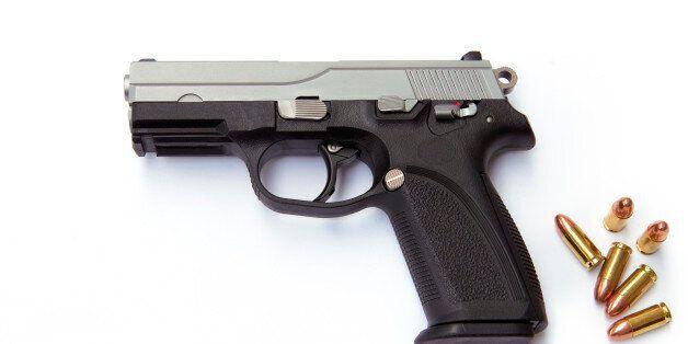 Hand gun with