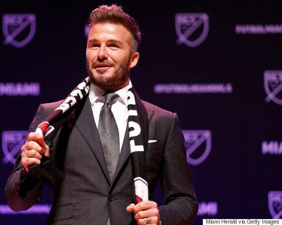 영국 축구스타 데이비드 베컴이 미국 MLS 구단주가