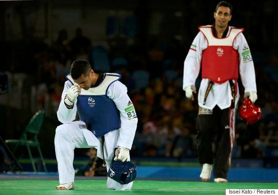 리우올림픽 뒤집어 놨던 통가 태권도 선수가 평창에