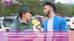 'Cazamariposas' se disculpa tras las mofas de dos periodistas en plena búsqueda de Blanca Fernández