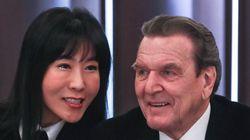 슈뢰더가 서울에서 결혼 발표를