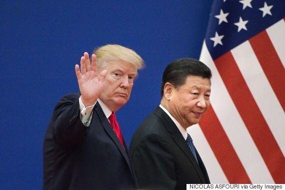 도널드 트럼프가 북한 김정은과의