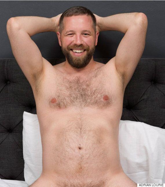 '보통 몸매'를 가진 게이 남성들이 등장하는