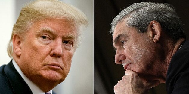 President Trump and special counsel Robert S. Mueller III. (Photo by Jabin Botsford/The Washington Post...