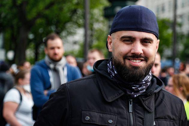 Le gilet jaune Drouet (ici lors du 1er mai 2019) condamné pour sa