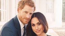 해리 왕자와 메건 마클의 약혼 사진이