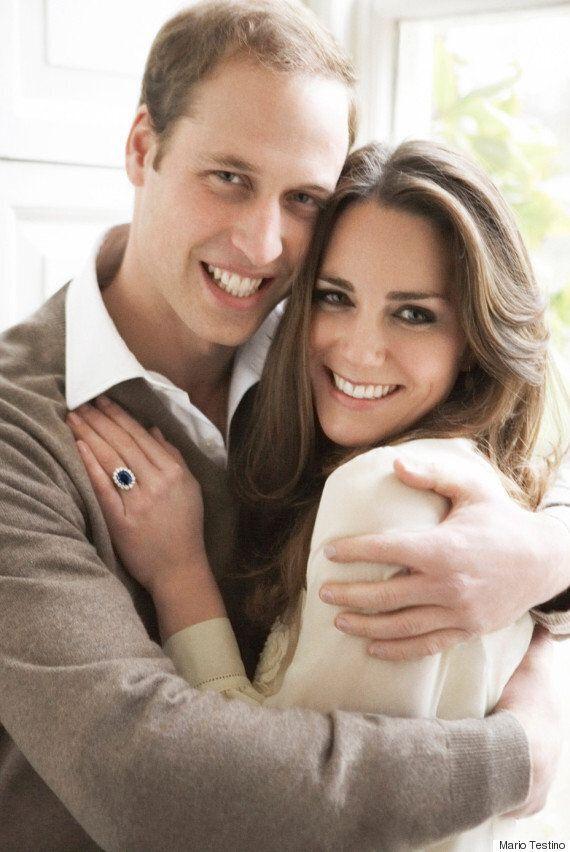 영국 해리 왕자와 메건 마클의 약혼 사진은