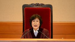 박근혜 탄핵시킨 헌재의자