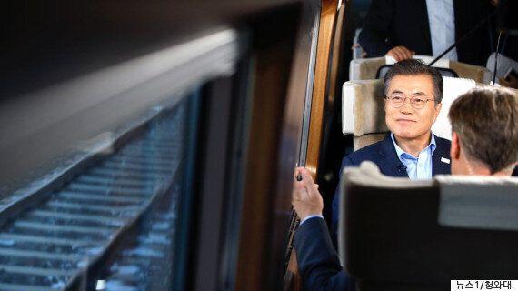 문재인 대통령이 한·미 연합훈련을 평창올림픽 뒤로 연기하자고 미국에