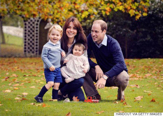 윌리엄 왕자 가족 크리스마스 카드의 진짜 주인공은 귀여운
