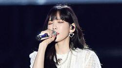 태연이 콘서트 중 故 샤이니 종현을 추모한
