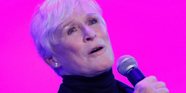 NEW YORK, NY - OCTOBER 16: Glenn Close performs during the National Dance Institute Benefit Performance...