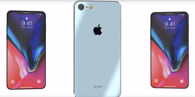 애플 차기작 '아이폰 SE2' 디자인이