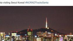 산타 위치추적 서비스가 전한 '산타의 서울