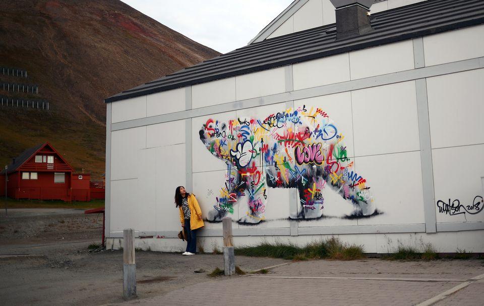 Ένα γκράφιτι στη