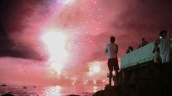 전 세계 도시의 새해맞이 불꽃놀이