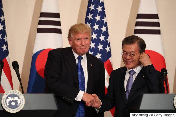 한국과 미국이 평창올림픽 기간 동안 한미 연합군사훈련을 하지 않기로