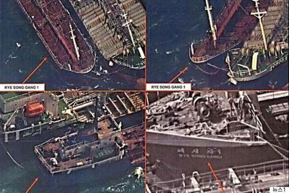 러시아 선박, 북한에 3차례 이상 유류