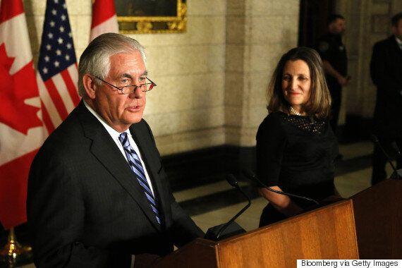 틸러슨 미국 국무장관의 '파격제안'은 없던 일이 됐다. '북한 핵 포기 없으면 대화 못한다'고