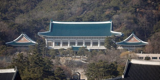 The Presidential Blue House is seen in Seoul, South Korea, March 9, 2017. Picture taken on March 9, 2017....