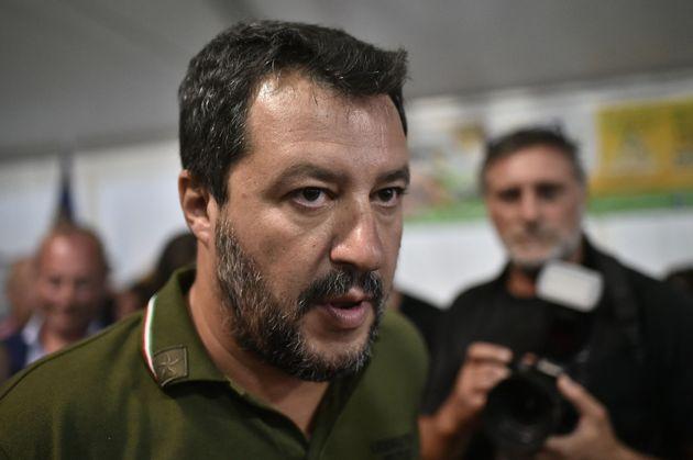 Salvini all'opposizione: