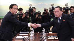 남북이 올림픽 참가와 군사회담 개최에