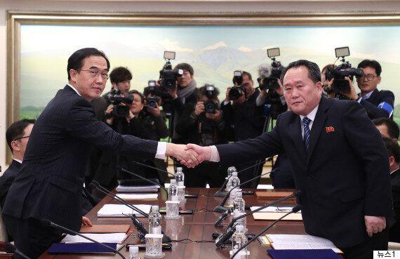 남북이 북한의 올림픽 참가와 군사회담 개최에