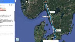 덴마크에서 노르웨이까지 택시 타고 간 남자의